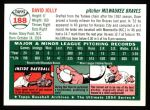 1954 Topps Archives #188  Dave Jolly  Back Thumbnail