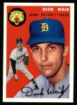 1954 Topps Archives #224  Dick Weik  Front Thumbnail