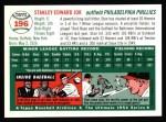 1994 Topps 1954 Archives #196  Stan Jok  Back Thumbnail
