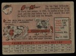 1958 Topps #13 WN Billy Hoeft  Back Thumbnail