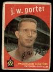 1959 Topps #246  J.W. Porter  Front Thumbnail