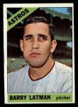 1966 Topps #451  Barry Latman  Front Thumbnail