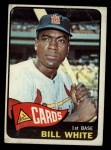1965 Topps #190  Bill White  Front Thumbnail