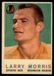 1959 Topps #141  Larry Morris  Front Thumbnail