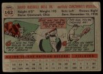 1956 Topps #162 GRY Gus Bell  Back Thumbnail