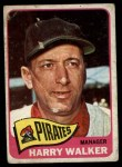 1965 Topps #438  Harry Walker  Front Thumbnail