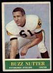 1964 Philadelphia #148  Buzz Nutter  Front Thumbnail
