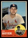 1963 Topps #375  Ken Boyer  Front Thumbnail