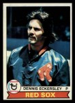 1979 Topps #40  Dennis Eckersley  Front Thumbnail
