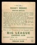 1933 Goudey #69  Randy Moore  Back Thumbnail