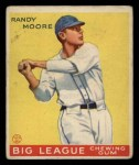 1933 Goudey #69  Randy Moore  Front Thumbnail