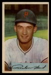 1954 Bowman #139 CF Preston Ward  Front Thumbnail