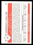 1979 TCMA The 50's #73  Sherman Lollar  Back Thumbnail