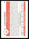 1979 TCMA The 50's #44  Sam Jethroe  Back Thumbnail