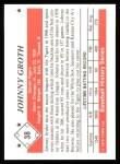 1979 TCMA The 50's #38  Johnny Groth  Back Thumbnail