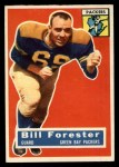 1956 Topps #79  Bill Forester  Front Thumbnail