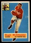 1956 Topps #50  Hugh McElhenny  Front Thumbnail