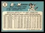 1965 Topps #95  Bill Mazeroski  Back Thumbnail
