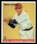 1933 Goudey Reprint #39  Mark Koenig  Front Thumbnail