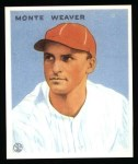 1933 Goudey Reprints #111  Monte Weaver  Front Thumbnail