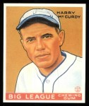 1933 Goudey Reprints #170  Harry McCurdy  Front Thumbnail