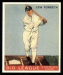 1933 Goudey Reprint #43  Lew Fonseca  Front Thumbnail