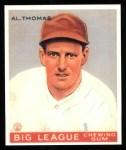1933 Goudey Reprint #169  Al Thomas  Front Thumbnail