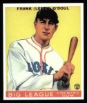 1933 Goudey Reprint #58  Lefty O'Doul  Front Thumbnail