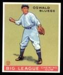 1933 Goudey Reprints #159  Ossie Bluege  Front Thumbnail
