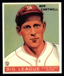 1933 Goudey Reprint #139  Ben Cantwell  Front Thumbnail