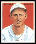 1933 Goudey Reprint #113  Ossie Bluege  Front Thumbnail
