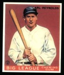 1933 Goudey Reprint #120  Carl Reynolds  Front Thumbnail