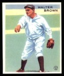 1933 Goudey Reprint #192  Walter Brown  Front Thumbnail