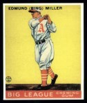 1933 Goudey Reprint #59  Bing Miller  Front Thumbnail