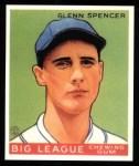 1933 Goudey Reprint #84  Glenn Spencer  Front Thumbnail