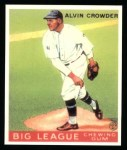 1933 Goudey Reprints #95  Alvin Crowder  Front Thumbnail