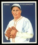 1933 Goudey Reprint #235  Fred Fitzsimmons  Front Thumbnail