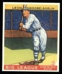 1933 Goudey Reprint #168  Goose Goslin  Front Thumbnail