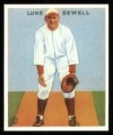 1933 Goudey Reprint #114  Luke Sewell  Front Thumbnail