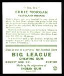 1933 Goudey Reprints #116  Eddie Morgan  Back Thumbnail