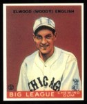 1933 Goudey Reprint #135  Woody English  Front Thumbnail