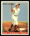 1933 Goudey Reprint #42  Eddie Collins  Front Thumbnail