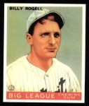 1933 Goudey Reprint #11  Billy Rogell  Front Thumbnail