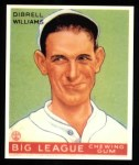 1933 Goudey Reprint #82  Dib Williams  Front Thumbnail