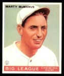 1933 Goudey Reprints #48  Marty McManus  Front Thumbnail