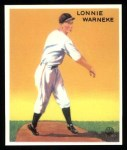 1933 Goudey Reprint #203  Lonnie Warneke  Front Thumbnail