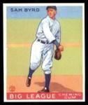 1933 Goudey Reprint #157  Sammy Byrd  Front Thumbnail