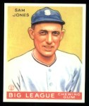 1933 Goudey Reprints #81  Sam Jones  Front Thumbnail
