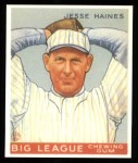 1933 Goudey Reprint #73  Jesse Haines  Front Thumbnail