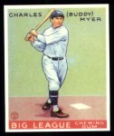 1933 Goudey Reprint #153  Buddy Myer  Front Thumbnail